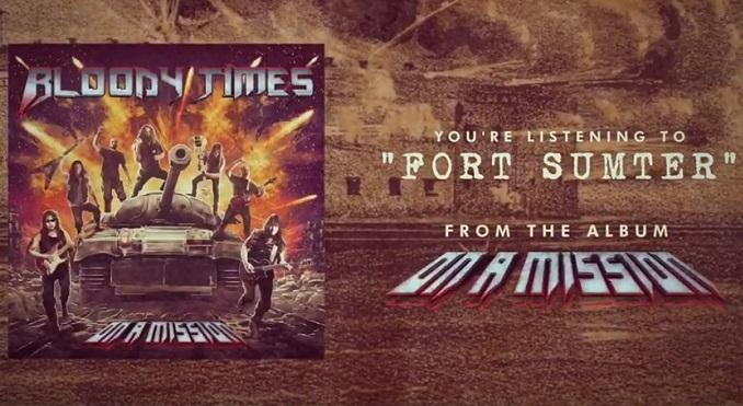 BLOODY TIMES : nouvelle lyric vidéo
