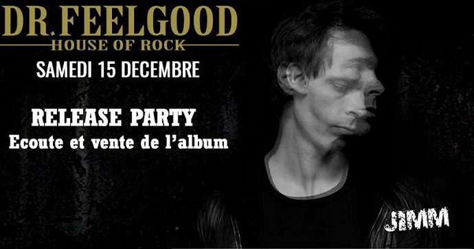 Jimm : Release Party le 15 décembre à Paris