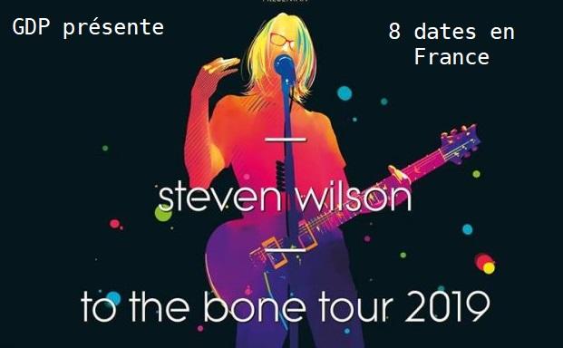 Steven WILSON : Tournée française