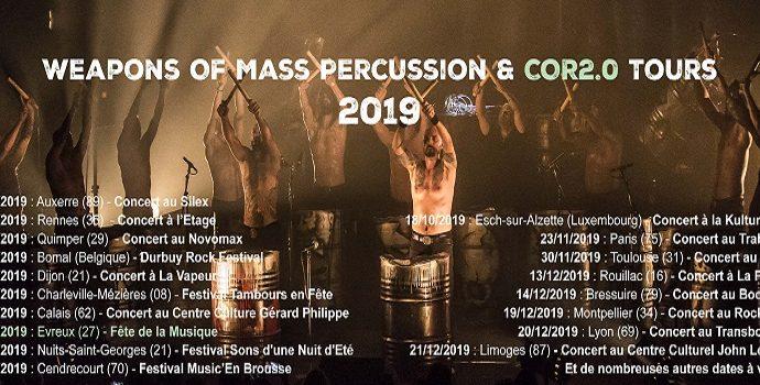 Les Tambours du Bronx : En tournée dès le 15 février
