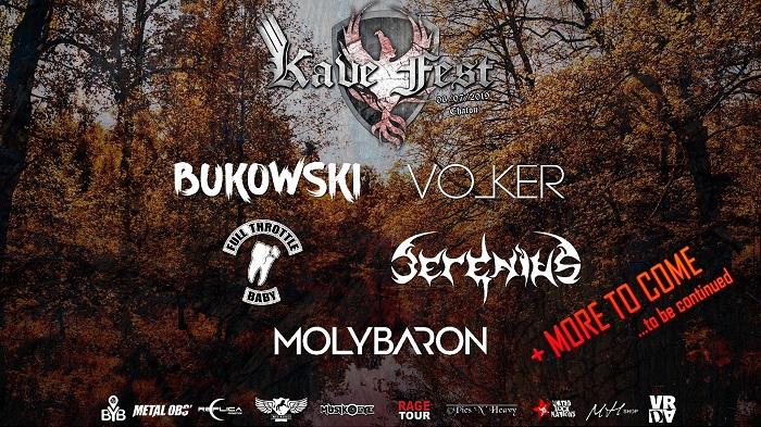 KAVE FEST : Molybaron se rajoute à l'affiche