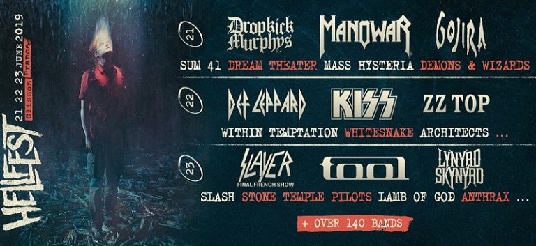 HELLFEST OPEN AIR du 21 au 23 juin 2019