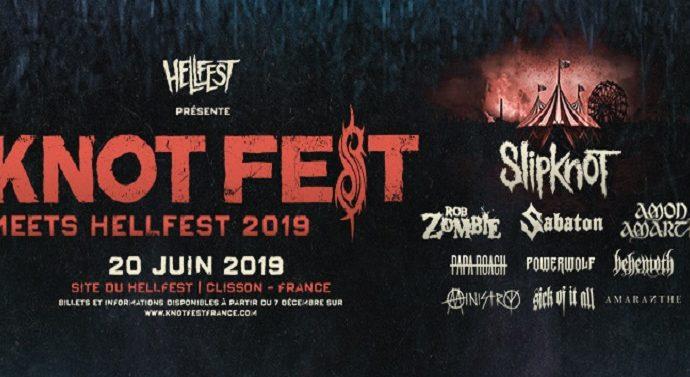 KNOTFEST le jeudi 20 juin 2019 à Clisson