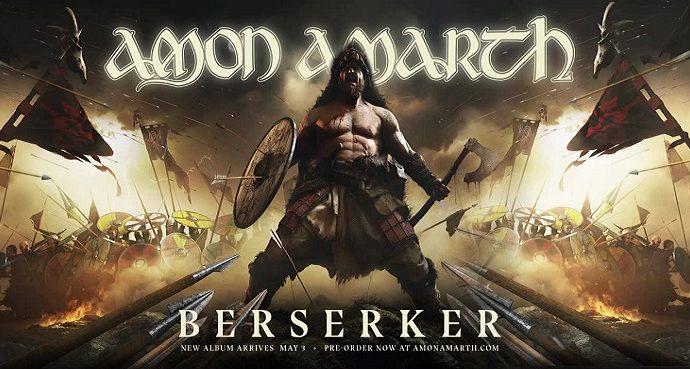 AMON AMARTH: «Berserker» sort aujourd'hui