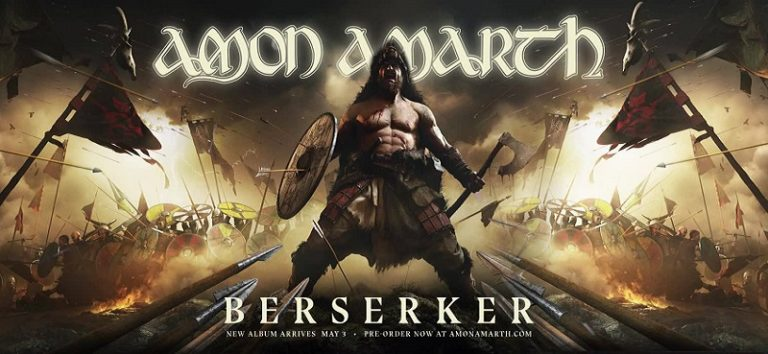 CHRONIQUE : AMON AMARTH – Album BERSERKER