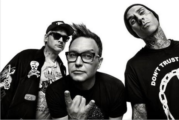 BLINK-182 : Nouveau clip de 'DARKSIDE'