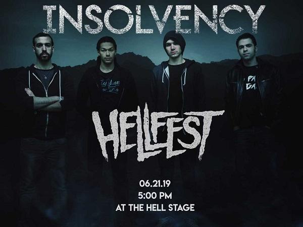 INSOLVENCY : Au Hellfest le 21 juin