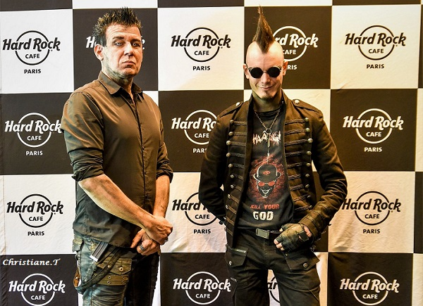 Interview Shaarghot au Hard Rock Café