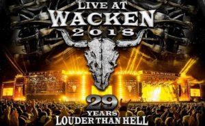 LIVE AT WACKEN 2018: 16ème édition DVD/CD