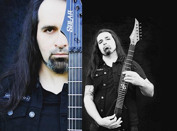 DEATH DECLINE : Fab endorsé par Solar Guitars