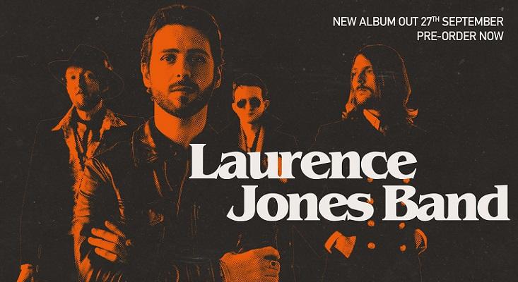 LAURENCE JONES BAND : nouvel album