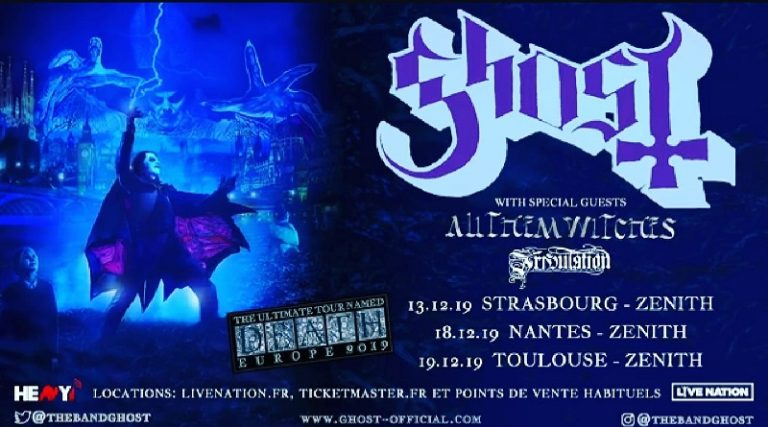 GHOST + ALL THEM WITCHES + Tribulation