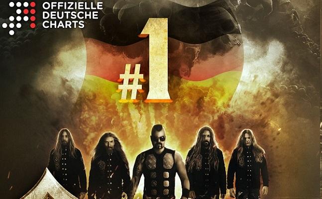 SABATON : Numéro 1 des charts en Allemagne