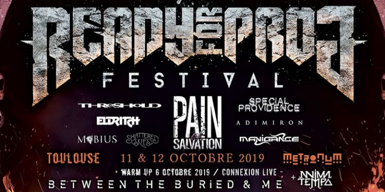 READY FOR PROG FESTIVAL 11 ET 12 OCTOBRE
