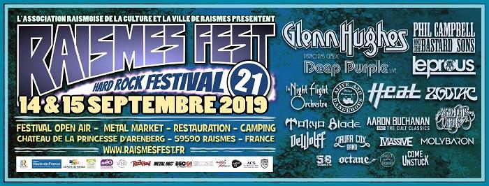 Raismes Fest : 14 et 15 septembre 2019