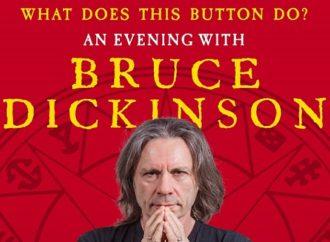 Bruce Dickinson au Trianon le 14 février 2020