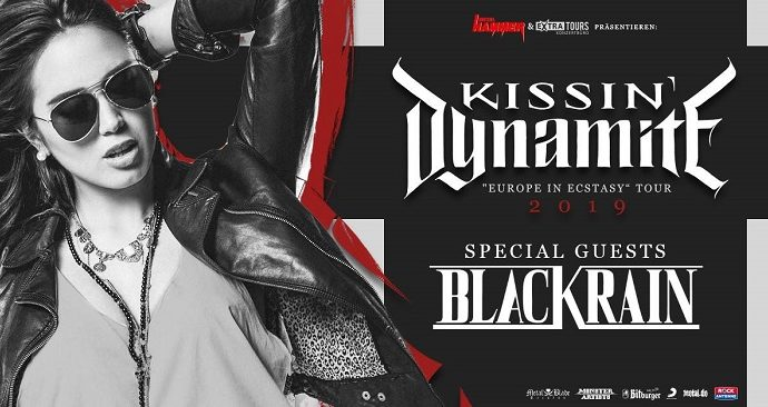 Kissin'Dynamite et BlackRain le 17 octobre