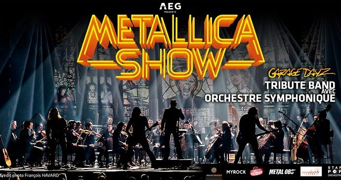 METALLICA SHOW: 2 concerts en France