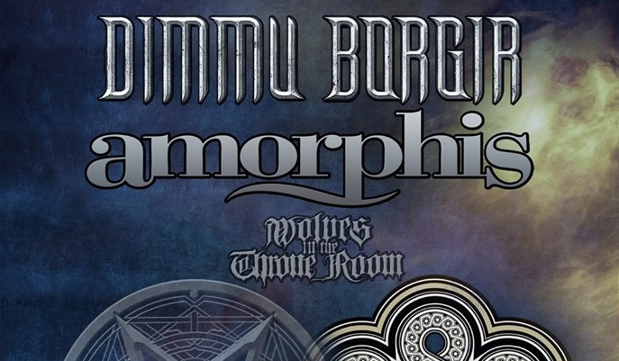 Dimmu Borgir, Amorphis, Wolves in The Throne Room