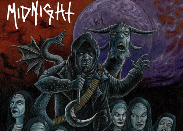 Midnight : nouvel album 'Rebirth by Blasphemy'