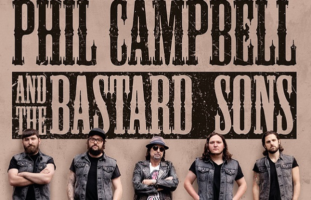 PHIL CAMPBELL  AND THE BASTARD SONS news