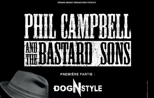 Phil Campbell and The Bastard Sons + DOG'N'STYLE
