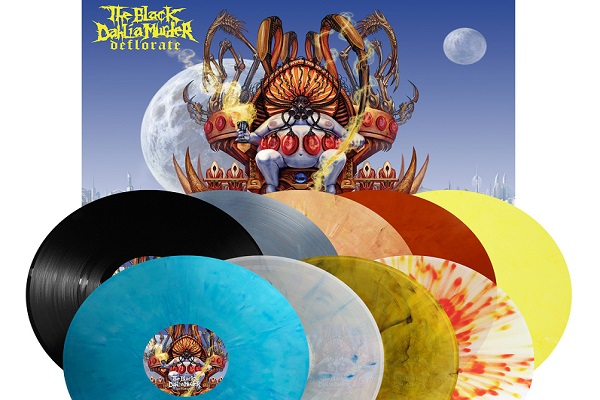 THE BLACK DAHLIA MURDER : réédition vinyle