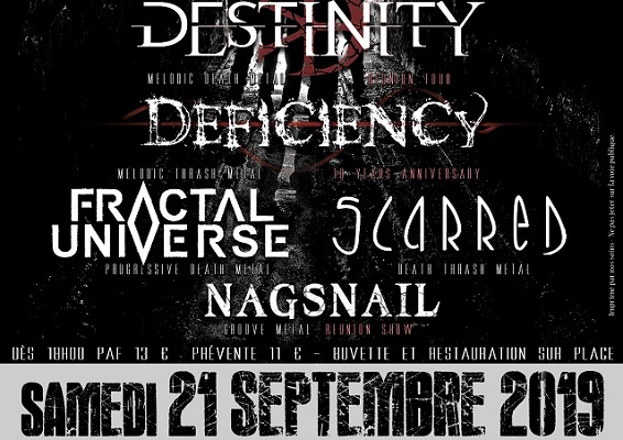 DEFICIENCY au MetalEast Evening