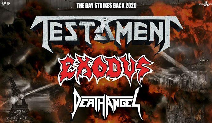 TESTAMENT / EXODUS / DEATH ANGEL le 01 Mars