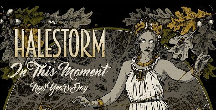 Halestorm, In This Moment, New Years Day le 13 nov.