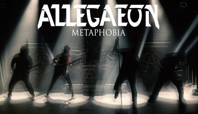 Allegaeon : Nouvelle vidéo de 'Metaphobia'