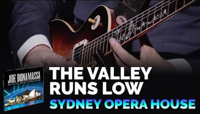 JOE BONAMASSA : vidéo « The Valley Runs Low »