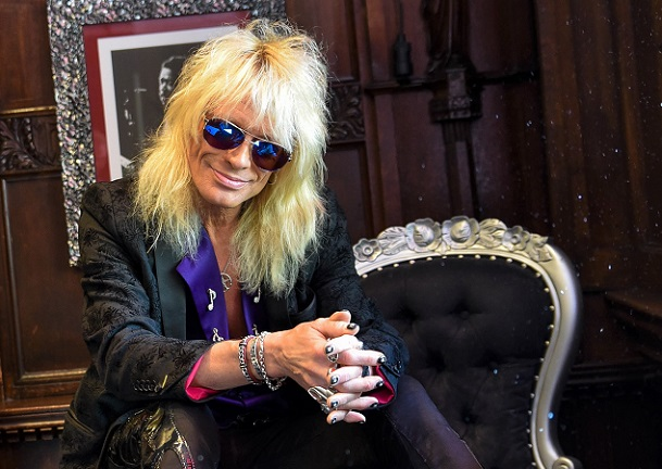 Interview: MICHAEL MONROE à Paris