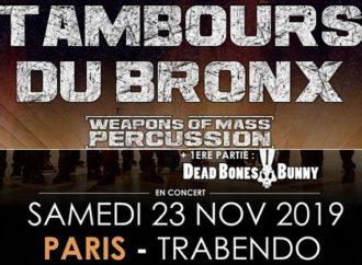Les Tambours du Bronx et Dead Bones Bunny