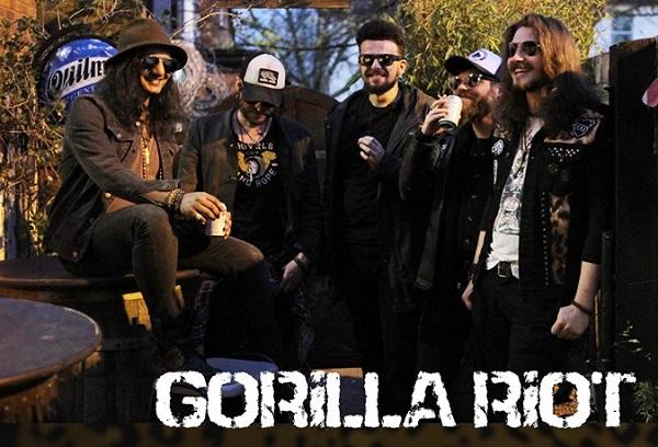 Gorilla Riot : single 'Black Heart Woman'