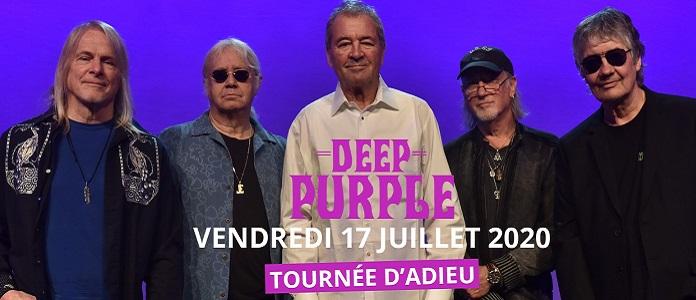 Guitare en Scène: Deep Purple le 17 juillet 2020