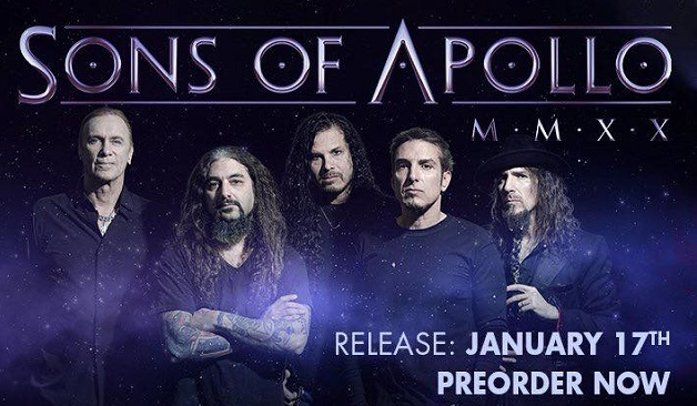 Sons Of Apollo : Vidéo de « Goodbye Divinity »