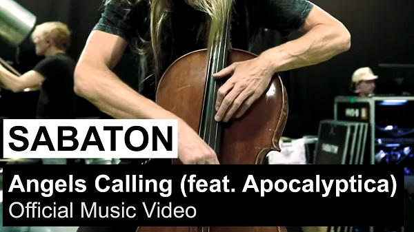 SABATON : Vidéo de «Angels Calling» feat. Apocalyptica