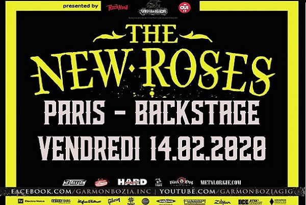 The New Roses + Sweet Needles le 14 février