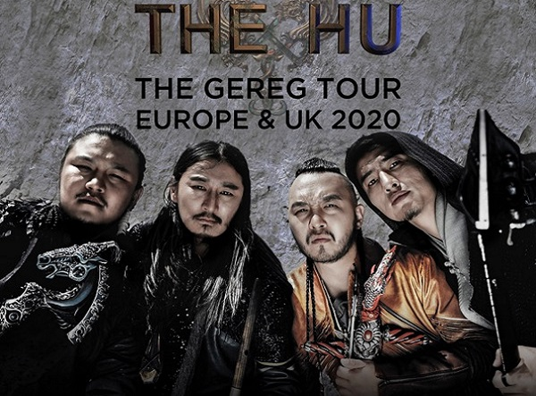 THE HU : EUROPEAN TOUR 2020