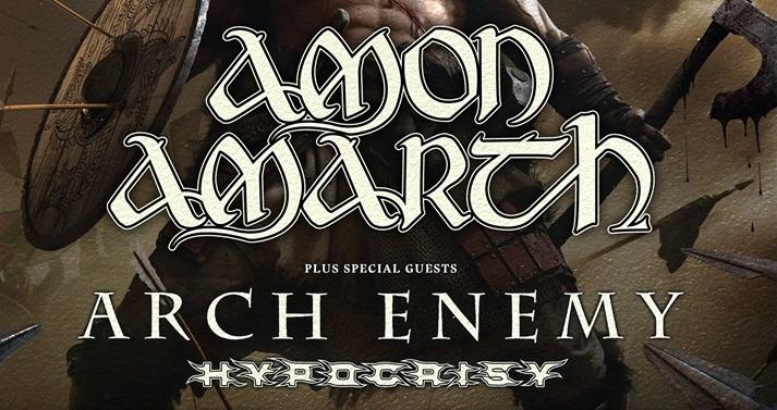 AMON AMARTH + ARCH ENEMY + HYPOCRISY
