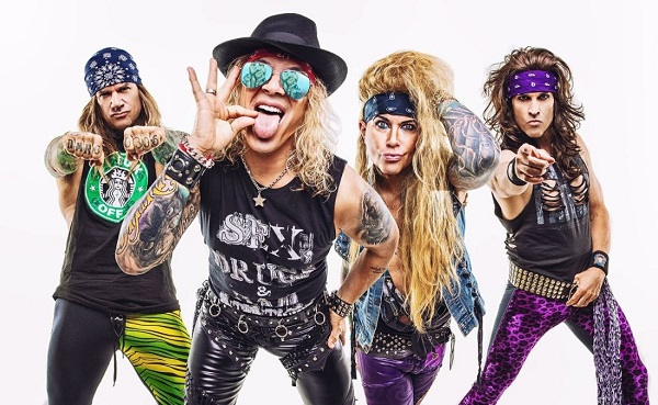 STEEL PANTHER: Nouvelle vidéo « Gods of Pussy »