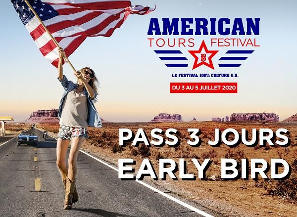 American Tours festival du 3 au 5 juillet 2020