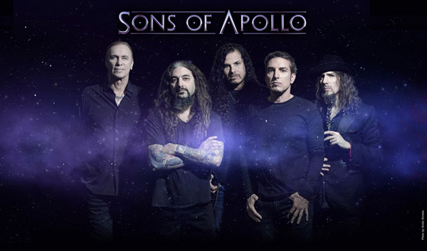 SONS OF APOLLO: nouvelle vidéo de «Desolate July»