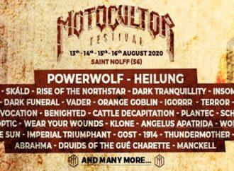 Motocultor Festival : 8 nouveaux noms
