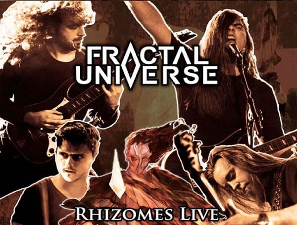 Fractal Universe : vidéo Live de 'Rhizomes of Insanity'