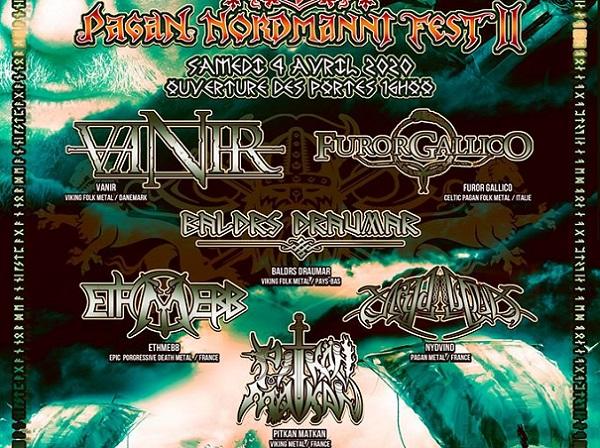 Reporté :Pagan Nordmanni Fest II le 4 avril à Canteleu