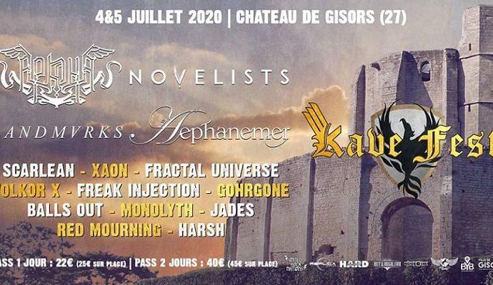 Kave Fest V les 4 et 5 juillet 2020
