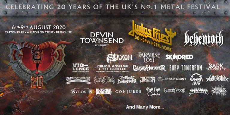 BLOODSTOCK FESTIVAL (UK) du 6 au 9 août 2020