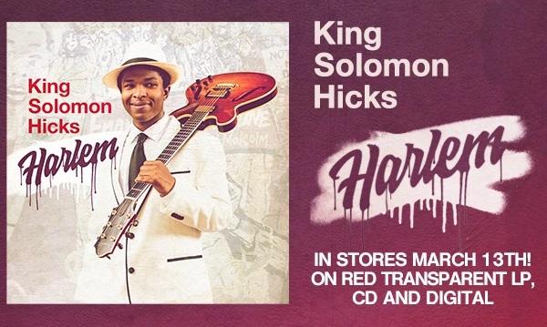 KING SOLOMON HICKS: Nouvelle Lyric vidéo